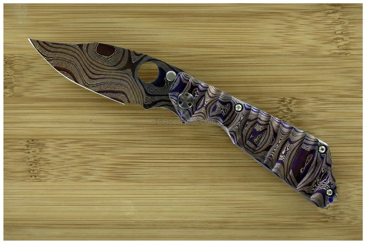 Marisa Strider Custom Cobalt Damascus PT