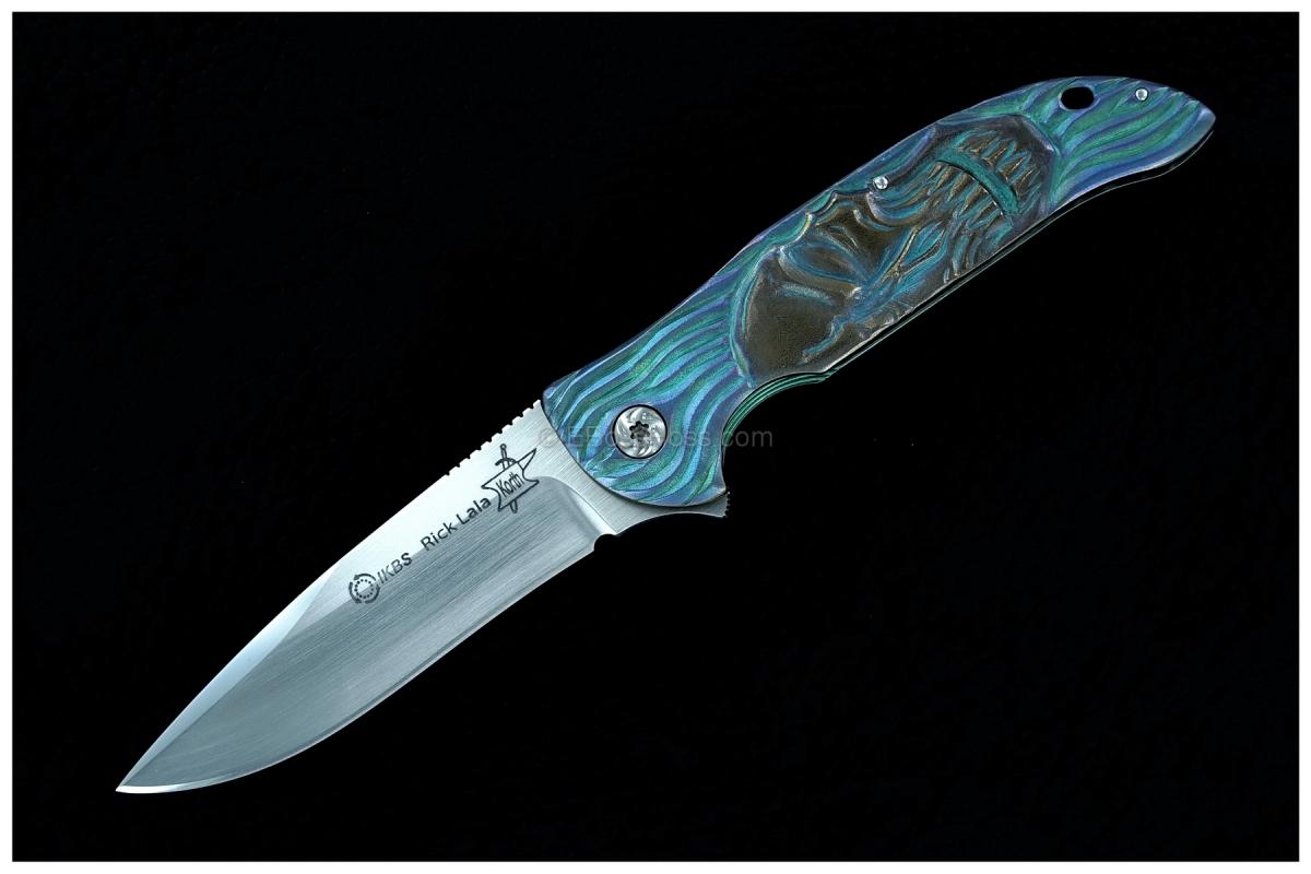 Korth Cutlery Carved Stinger Flipper