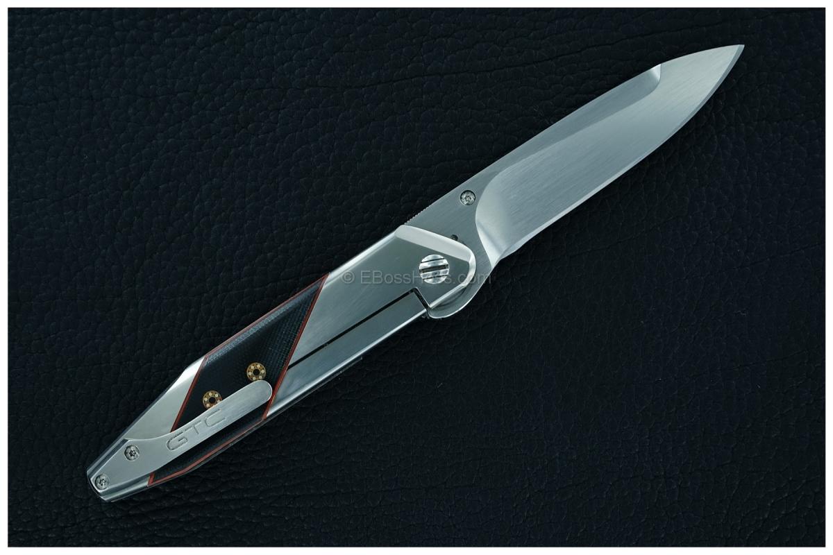 Gustavo Cecchini (GTC Knives) Custom Prisma Flipper