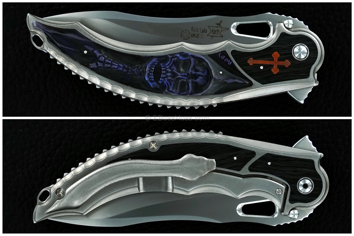 Korth Cutlery Carved Reptile Flipper