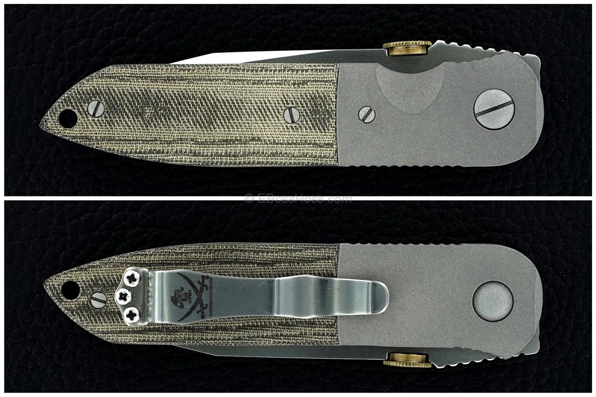 Ernie Emerson Custom CQC-6 (Original Non-Waved)