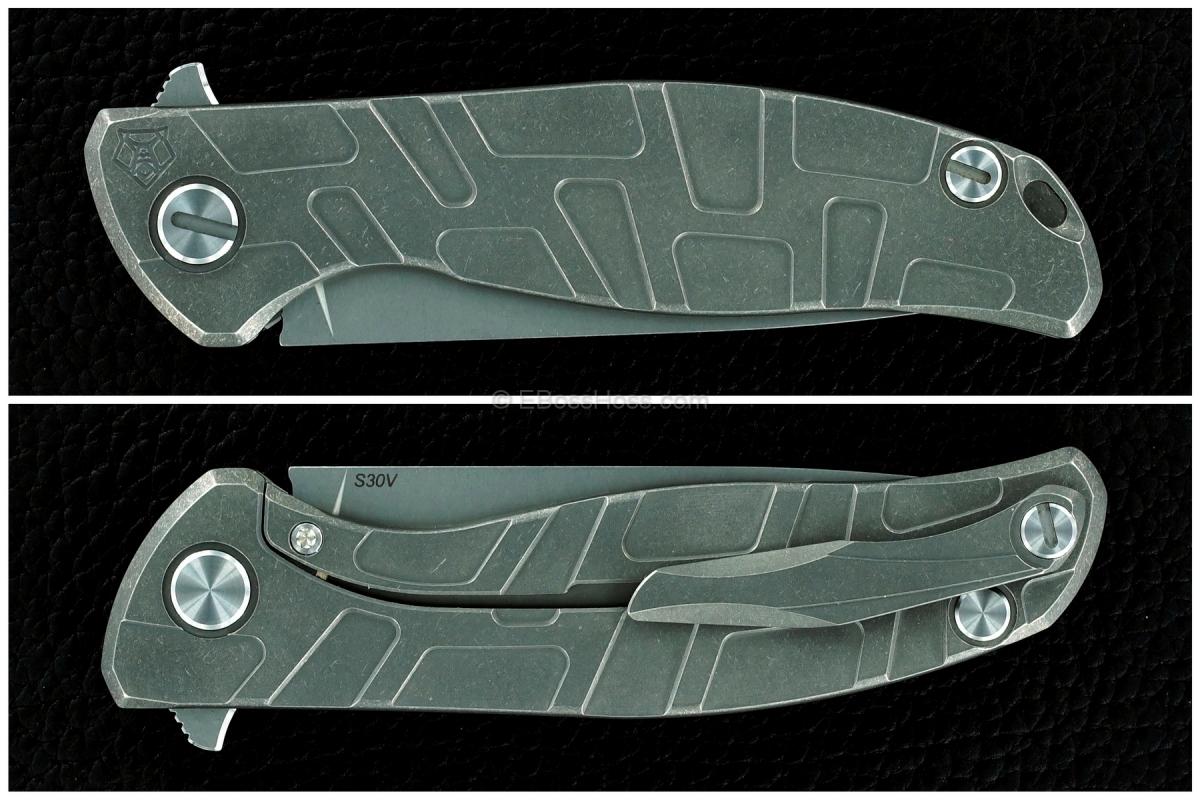 Shirogorov Bros Model 95 T Flipper w/ Bearings