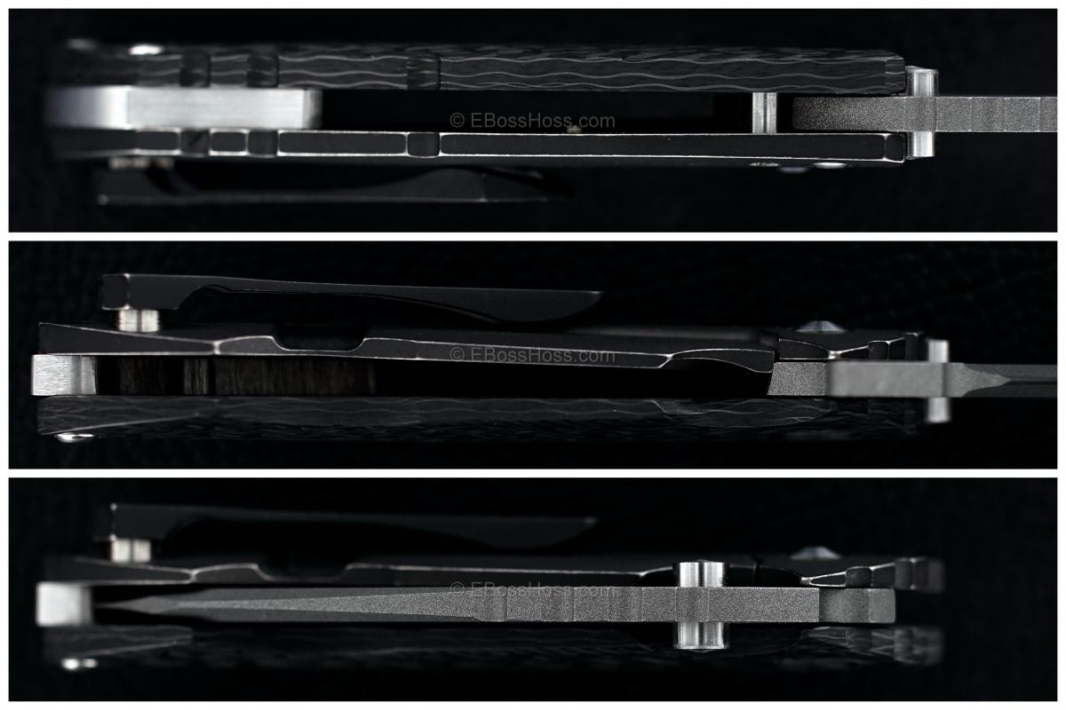 DIREWARE Custom Knives Solo V4 Flipper