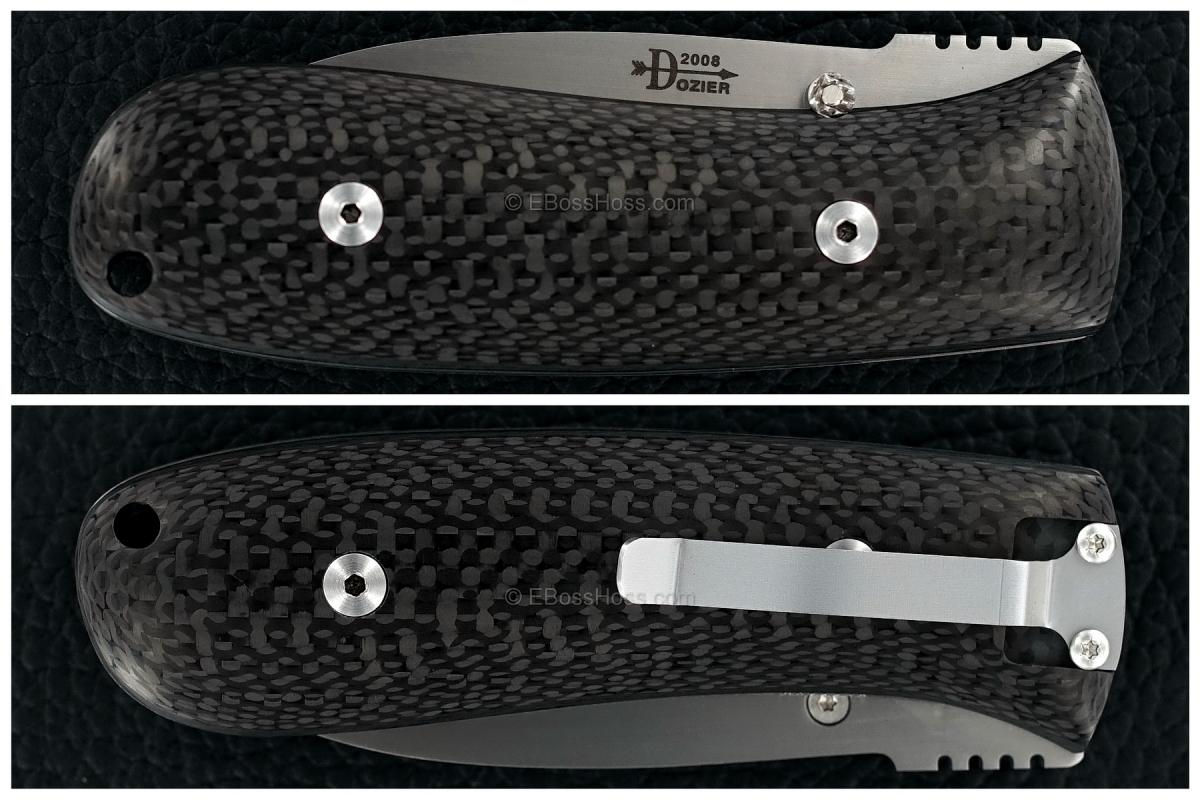 Bob Dozier Custom Folding Pro Skinner (DK-SK)