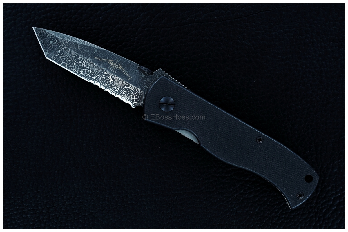 Emerson Production Custom Damascus CQC-7