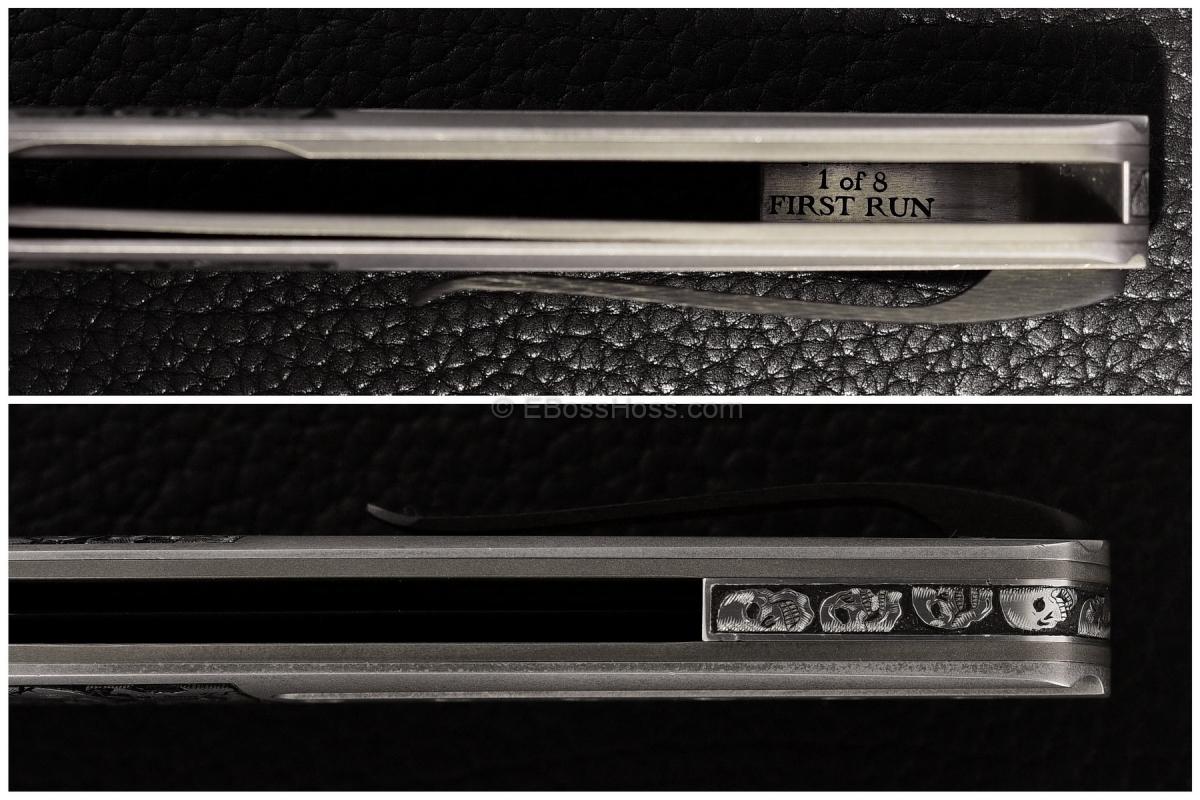 Tom Ferry Engraved Radical 2 Flipper