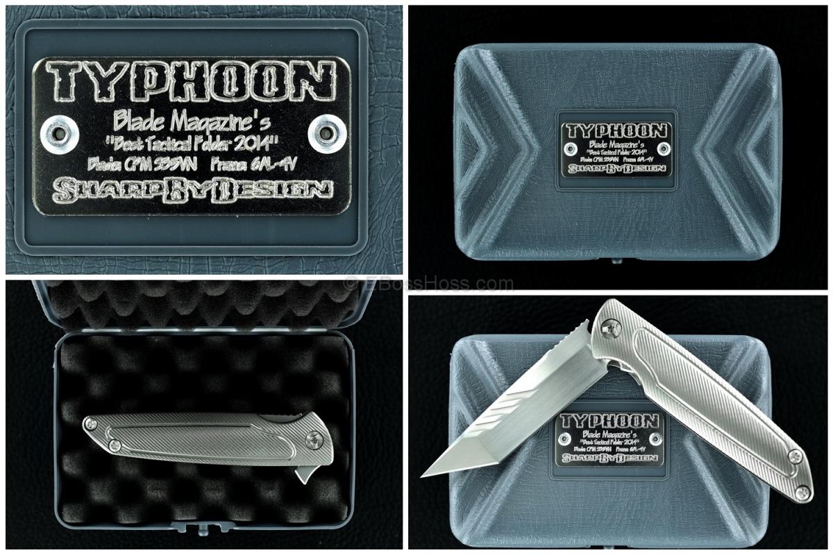 Brian Nadeau - Sharp by Design Tanto Typhoon Flipper