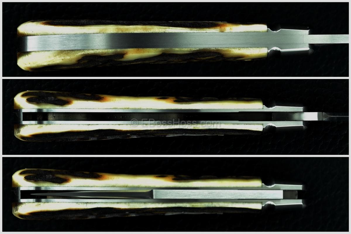 Reese Bose Stag Single-blade Saddlehorn