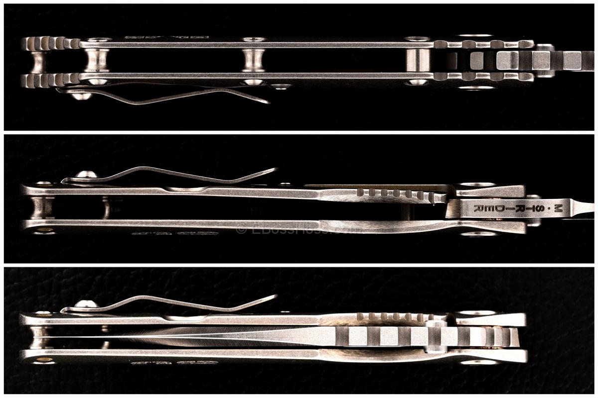 Mick Strider Custom (MSC) SMF - Titanium Pivot