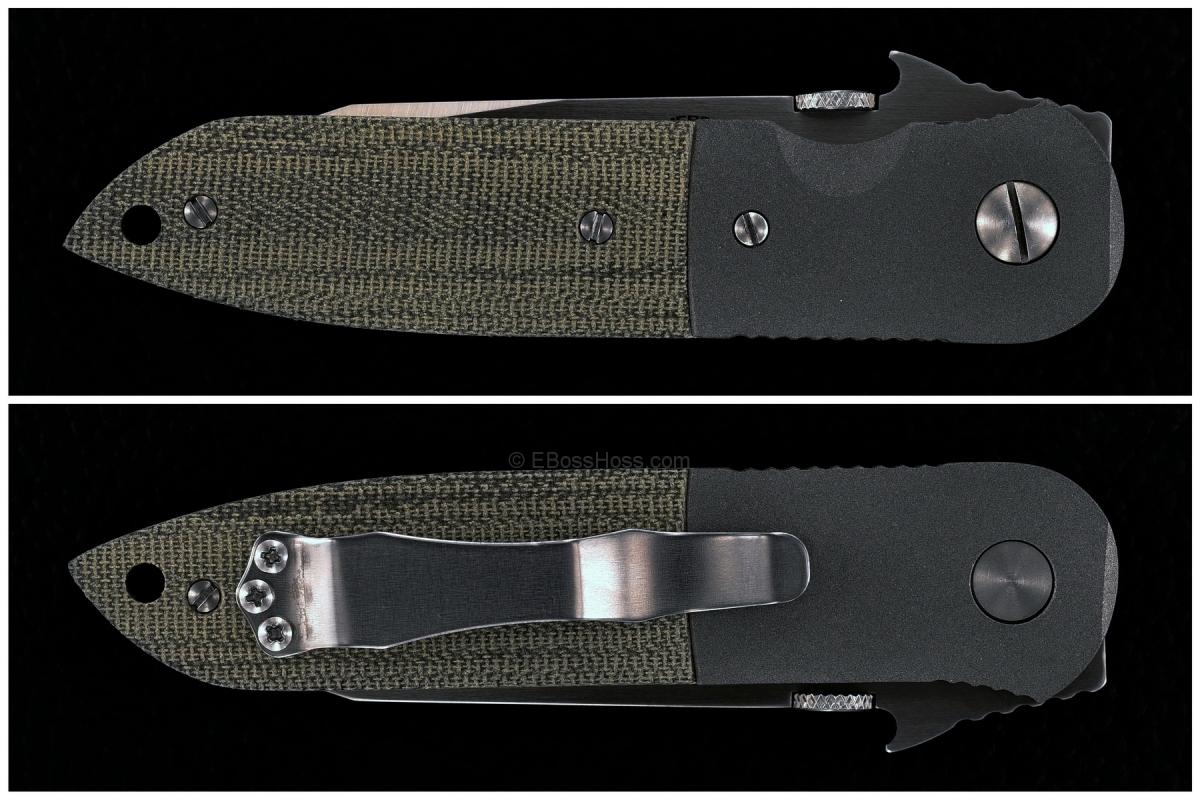 Ernie Emerson Custom CQC-6 w/ New Emerson HAND MADE Logo