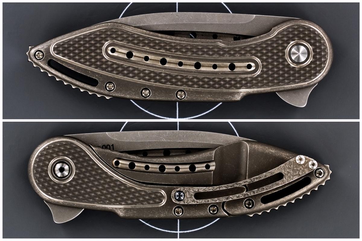 Todd Begg Custom Glimpse 5.5 Flipper Prototype No. 001