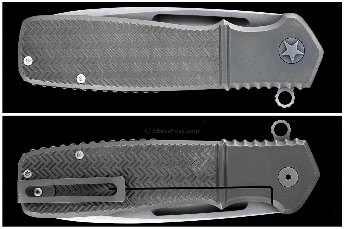 Ken Onion Custom XL Military Flipper