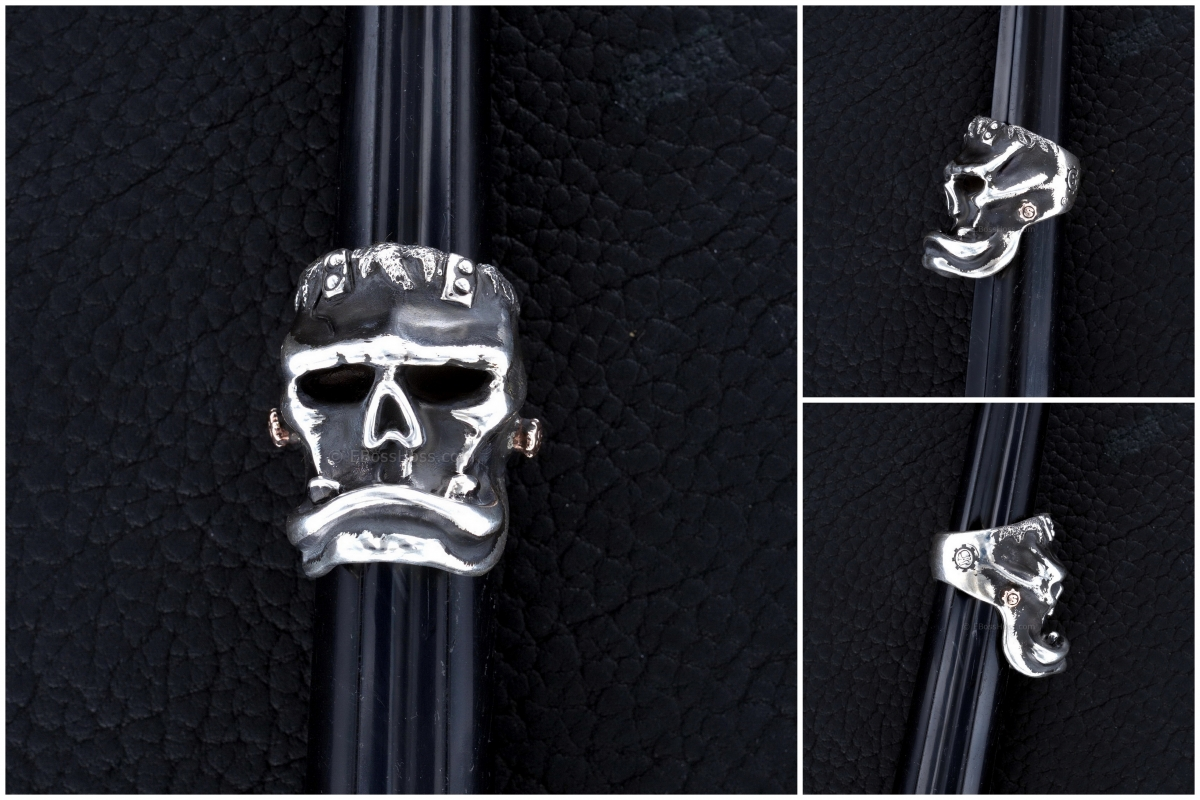 Starlingear Man's Ring: Halloween 2014 Frankenstein Limited Edition (Silver/Copper)