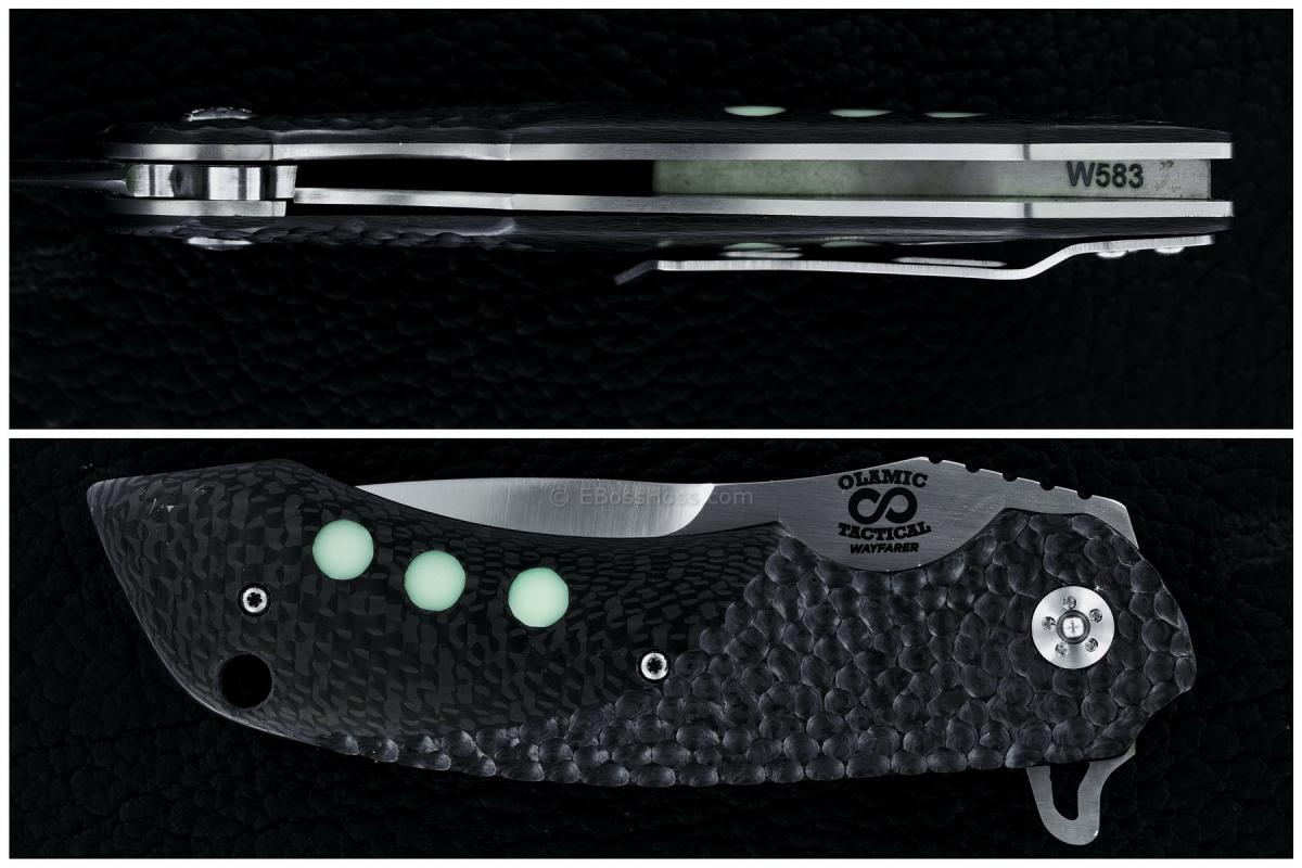 Olamic Tactical Wayfarer Flipper: Design by Michael Vagnin