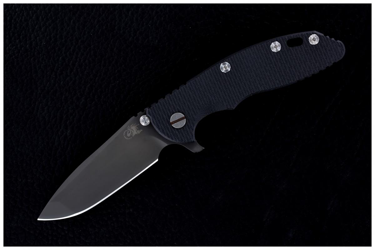 Hinderer XM-18 Gen 4 Black PVD Spanto Flipper