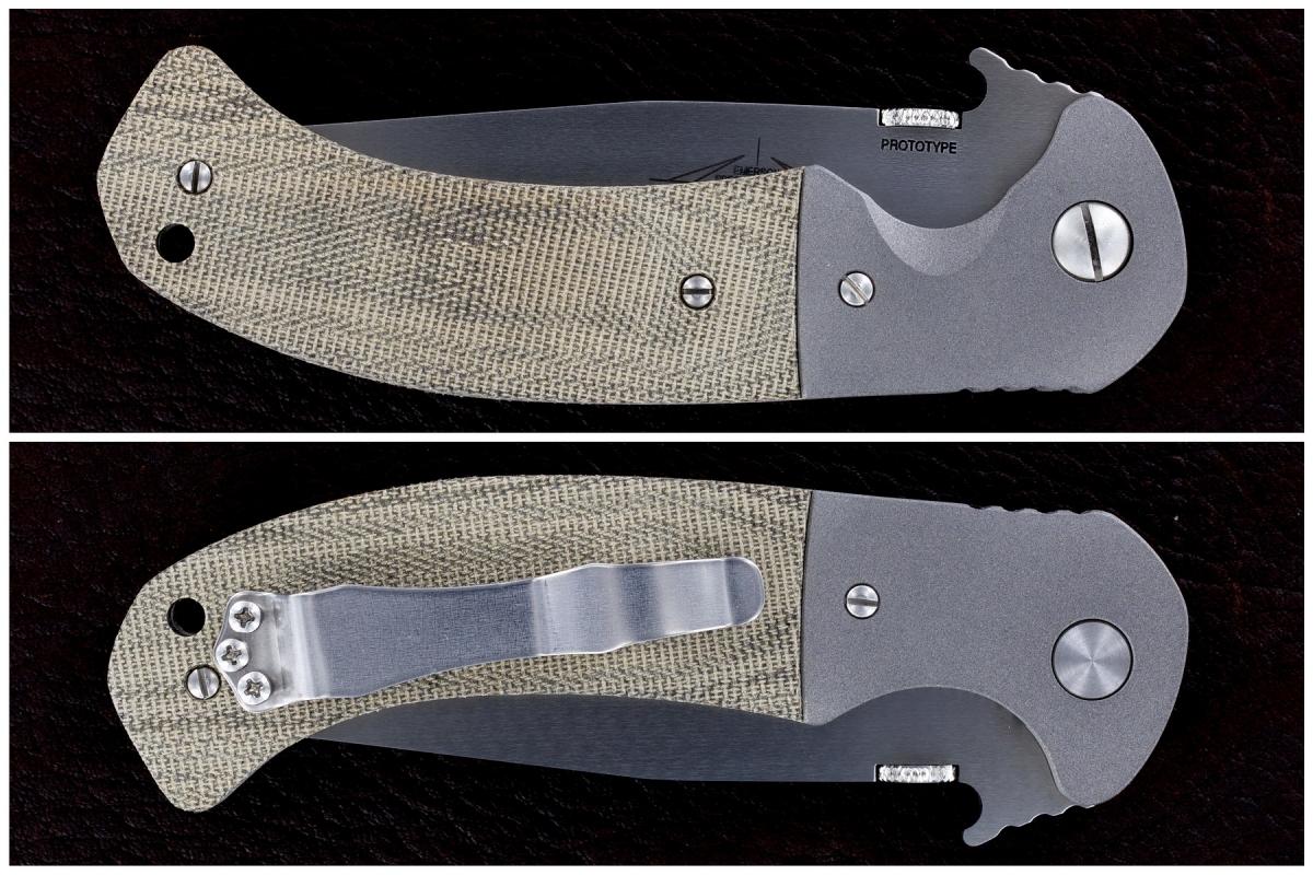 Ernie Emerson Custom Bolstered Zealot Prototype