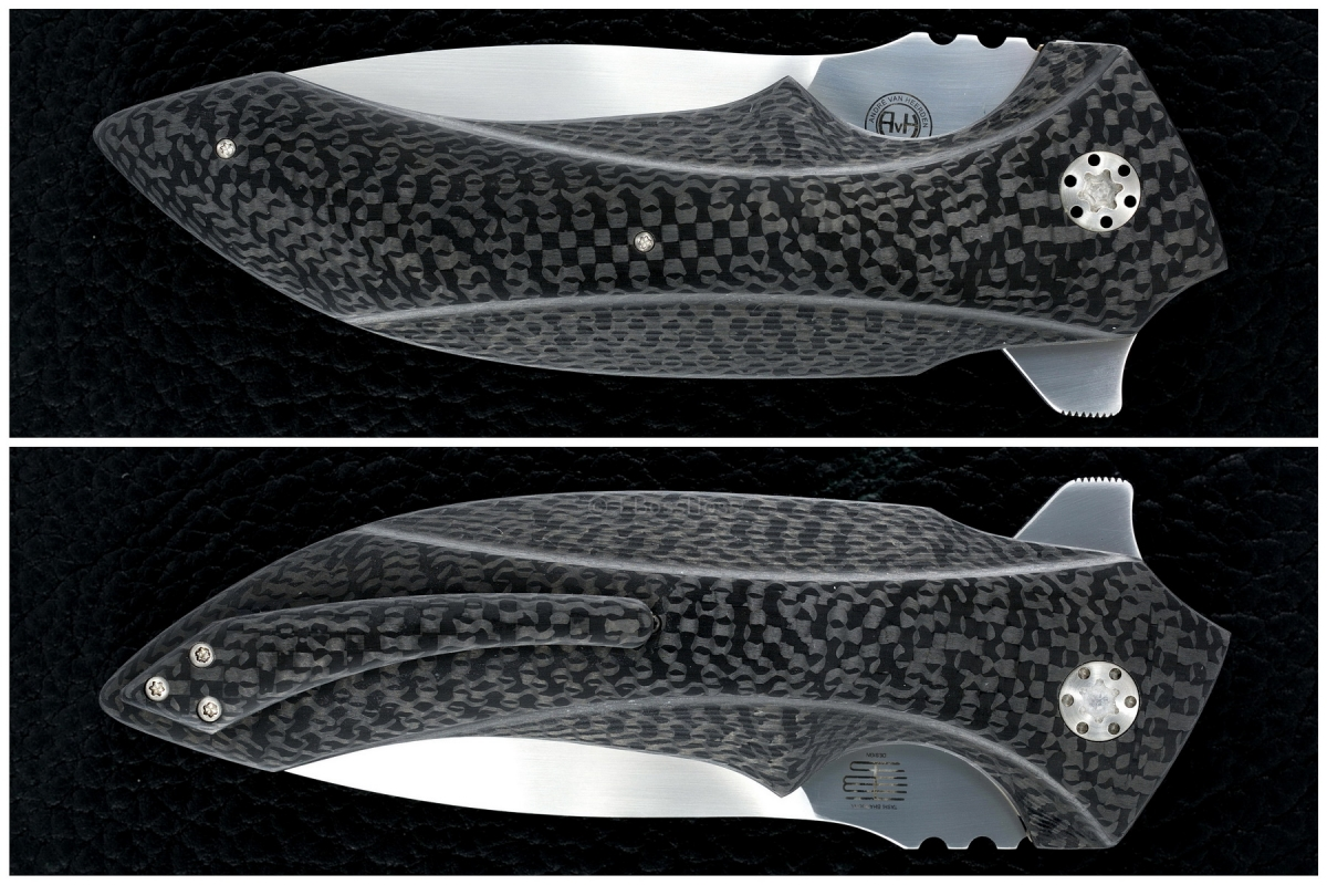 Andre van Heerden / Tashi Bharucha Custom M35 Righteous Collab Flipper