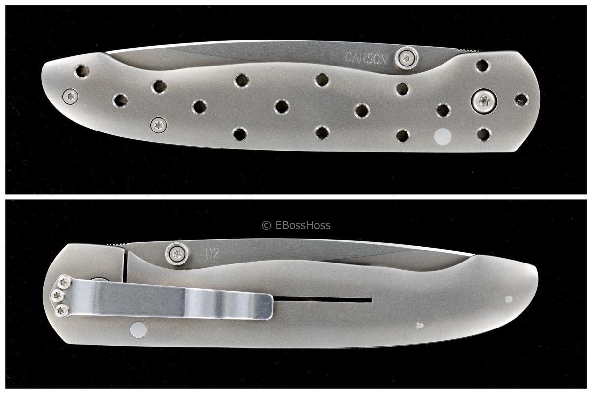 Kit Carson Custom Medium Model 16 Framelock