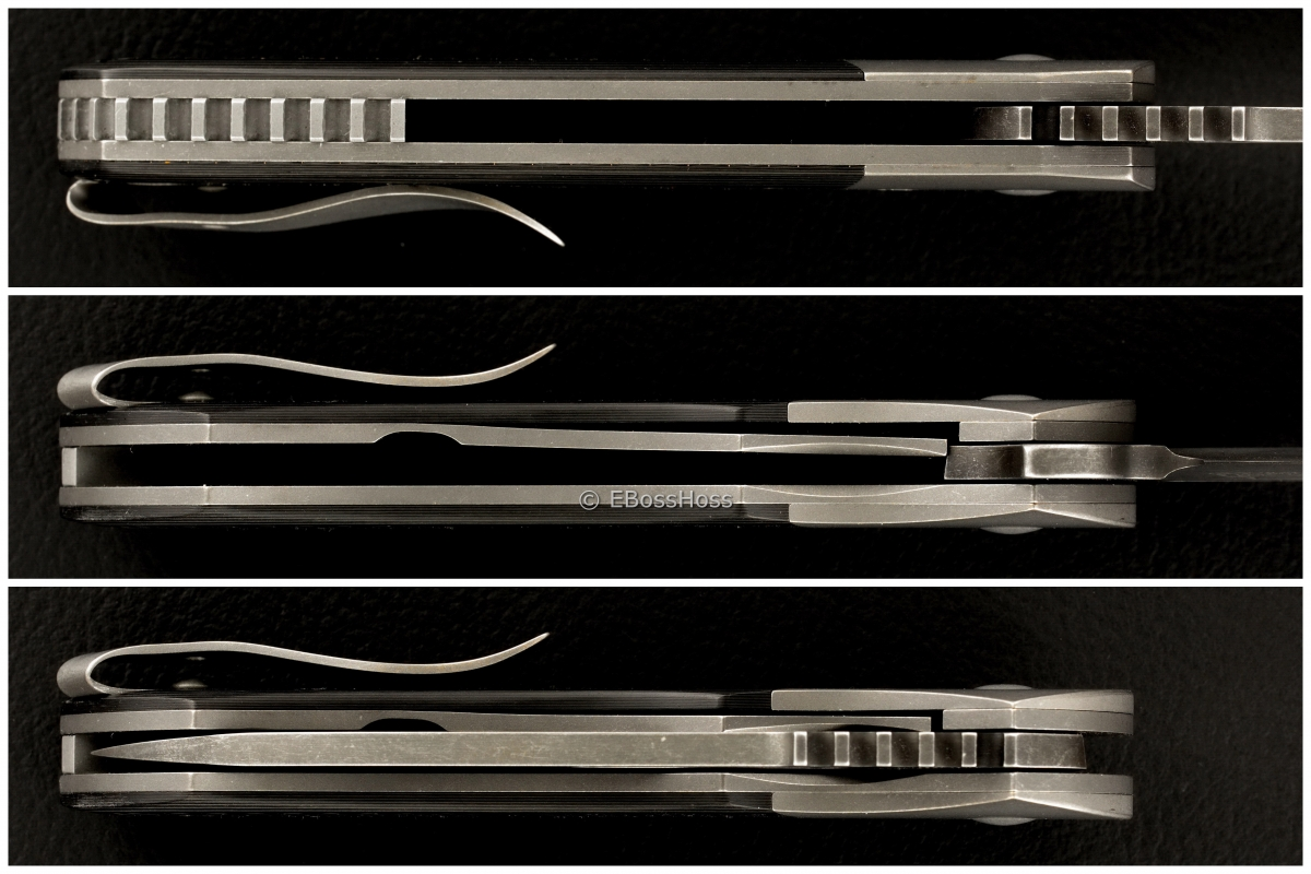 WR Bladeworks (Walter Randolph) Custom Bolstered Prometheus Flipper