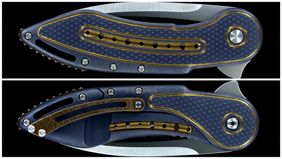 Todd Begg Knives Deluxe Glimpse 5.5 Flipper