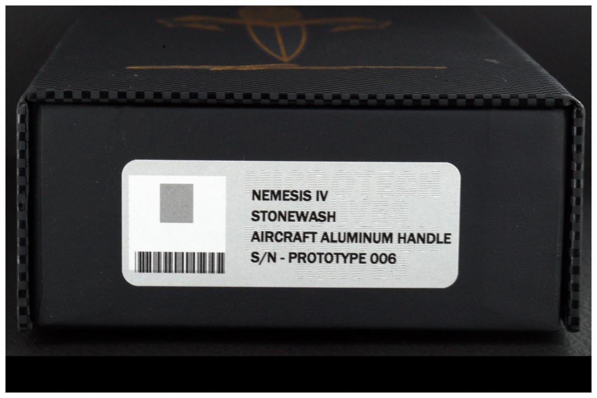 Tony Marfione (Microtech) Custom Nemesis IV Prototype