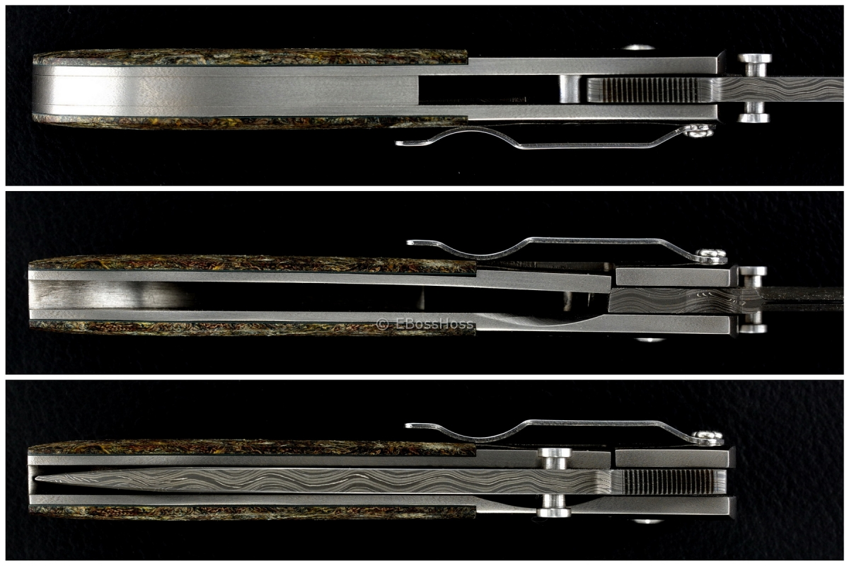 Kit Carson Custom Deluxe Medium Model 4 Bolsterlock
