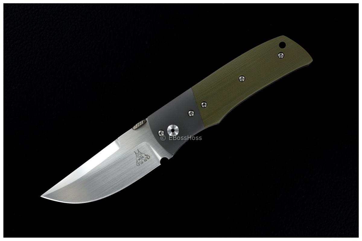 WR Bladeworks (Walter Randolph) Custom Bolstered Wraith