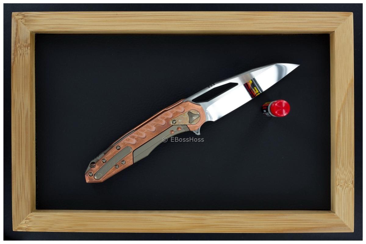 Deryk Munroe - Anthony Marfione Custom Collab Copper Sigil Flipper