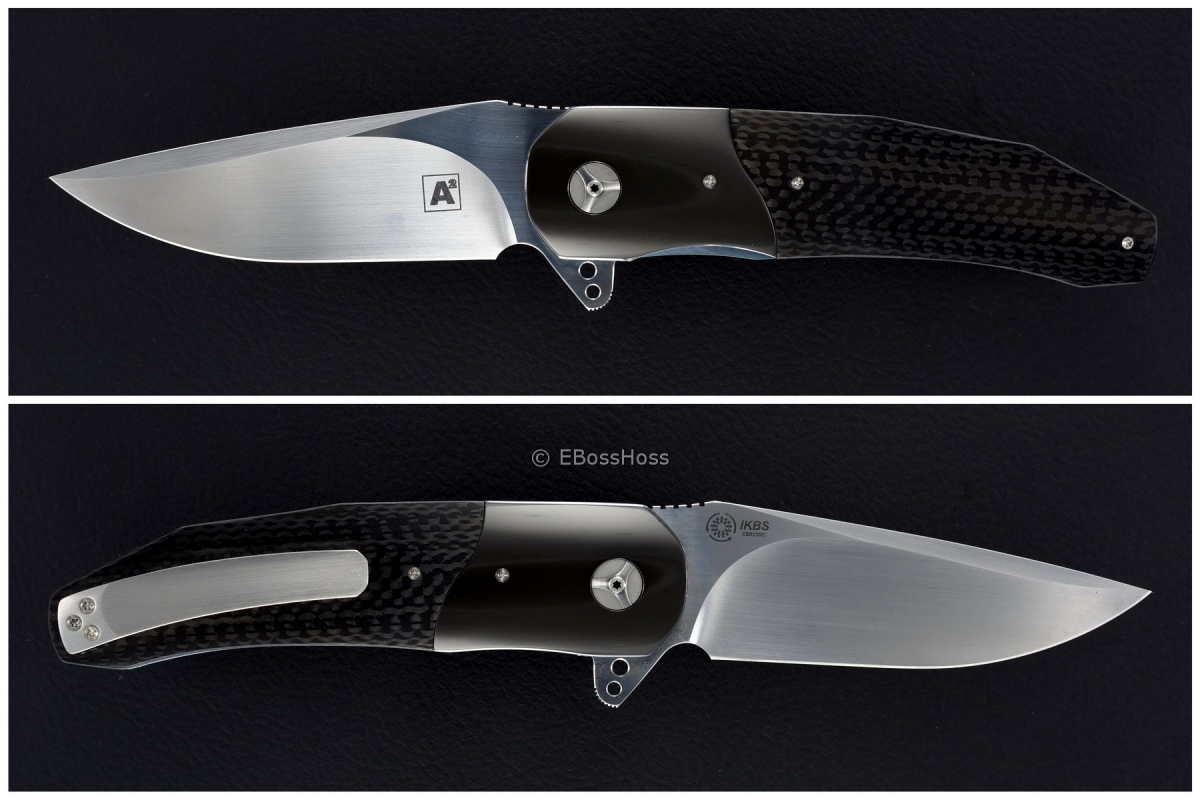 A2 Knives (by Andre Thorburn & Andre Van Heerden) Deluxe A3 Flipper
