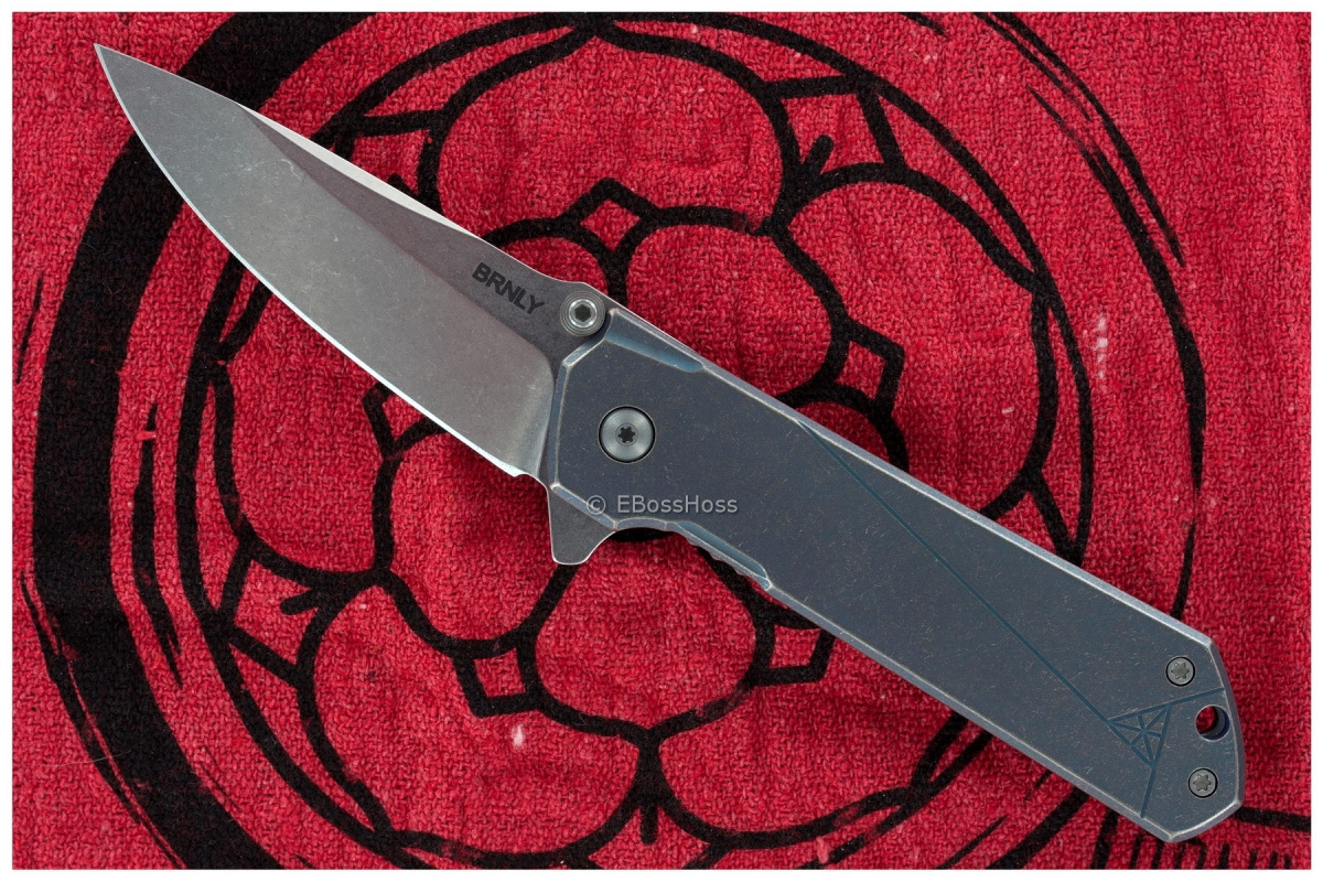 Burnly (Burnley Knives) Midtech Kihon Flipper