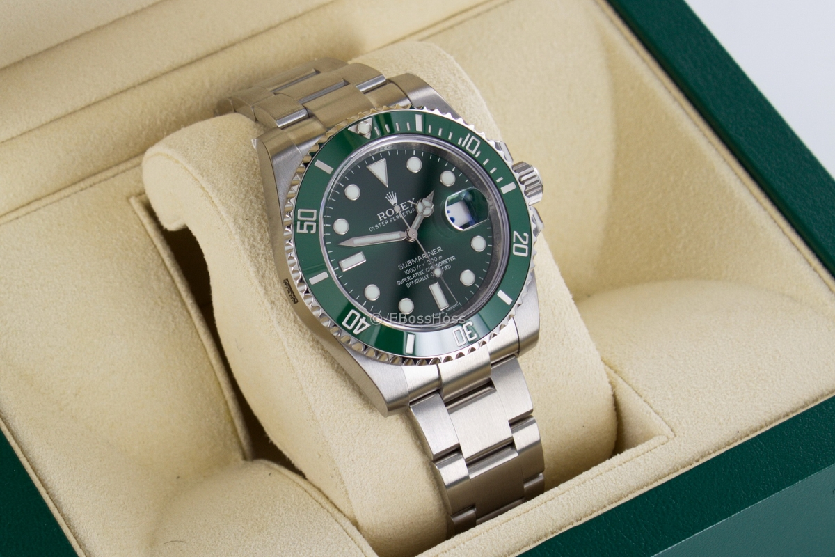 Rolex Submariner Date 116610LV - The Hulk