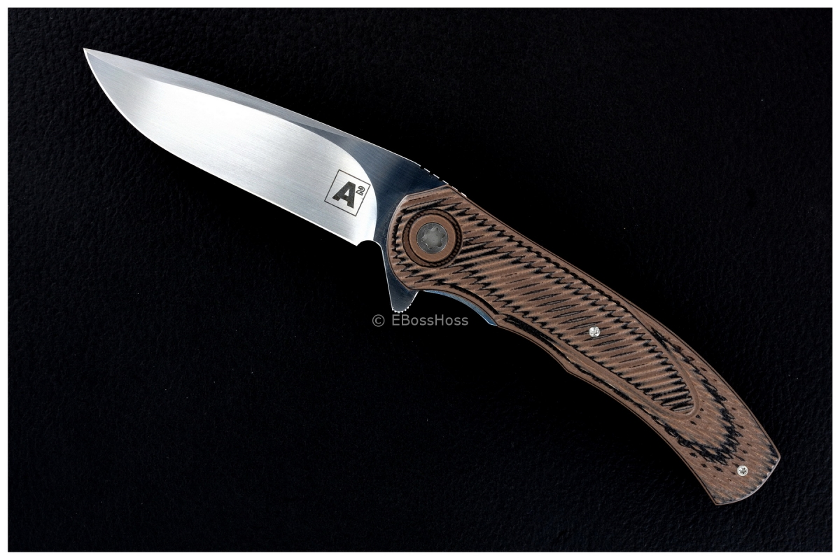 A2 Knives (by Andre Thorburn & Andre Van Heerden) Custom Model A4 Flipper