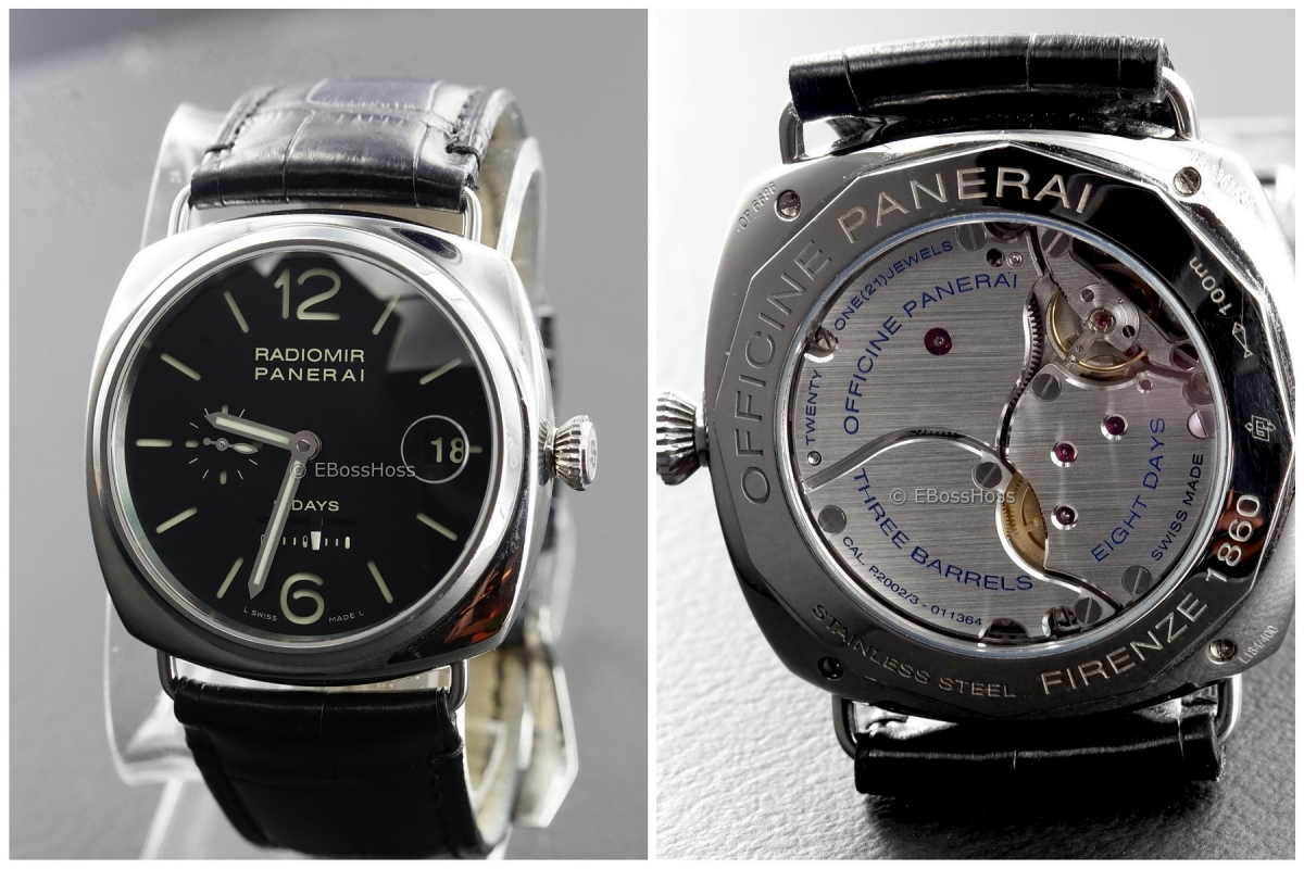 Panerai (Officine Panerai) 268 45mm Radiomir with 8-DAY PAM00268