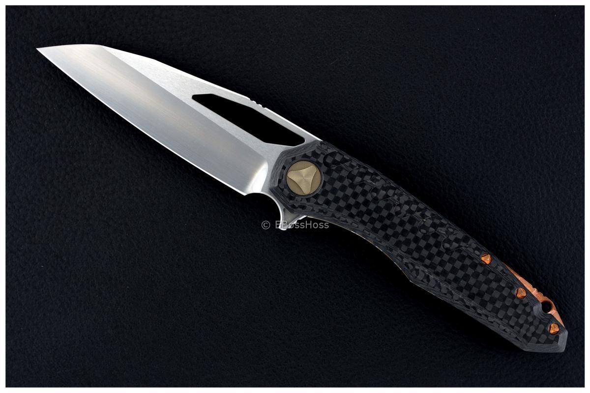 Deryk Munroe / Tony Marfione Custom Collab Carbon-Fiber Sigil Flipper