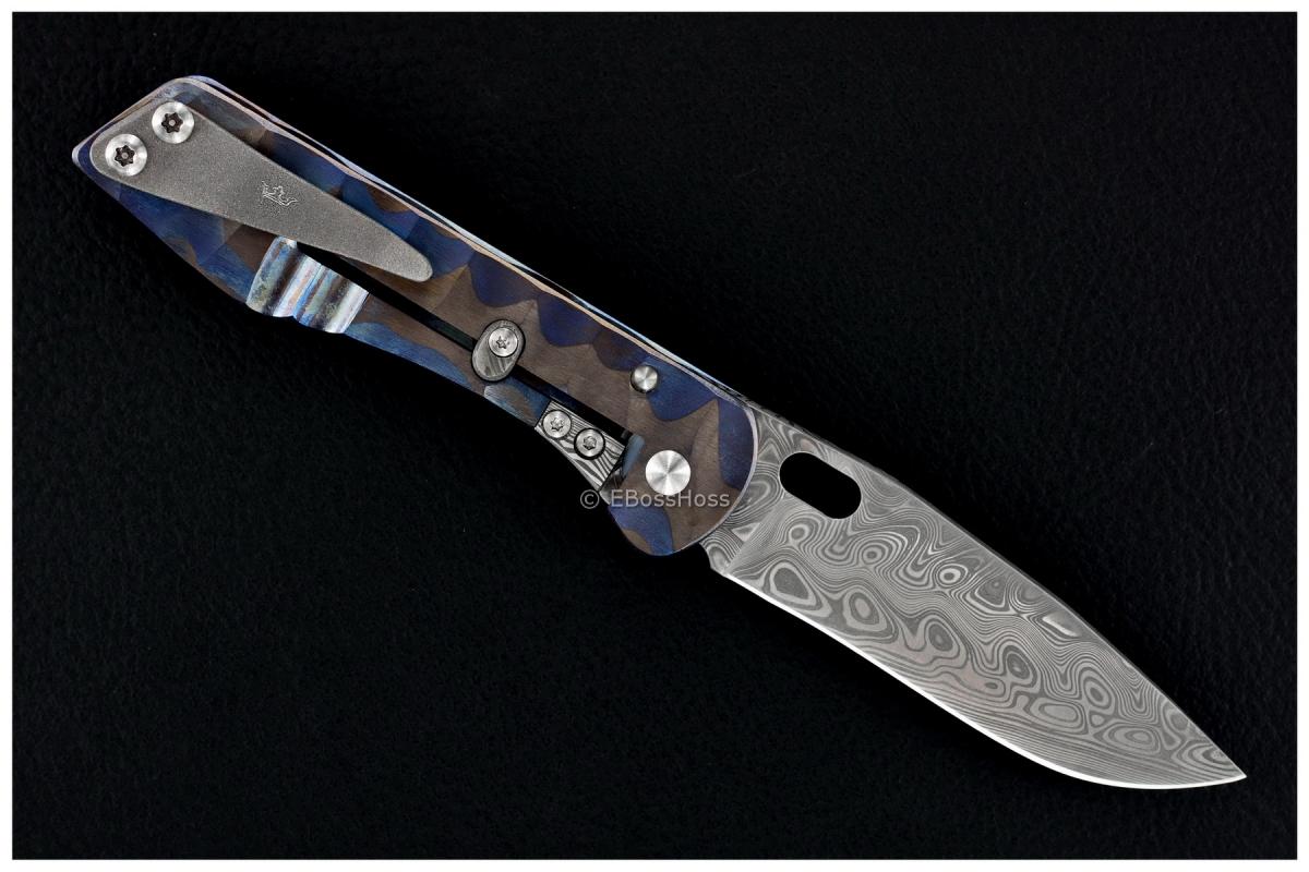 Jürgen Schanz Custom Model 2 Pocket Knife