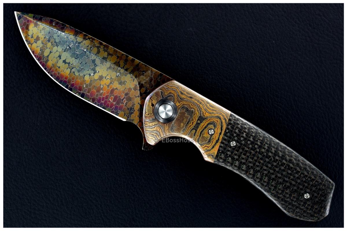 WR Bladeworks (Walter Randolph) Very Deluxe Custom Typhon Flipper