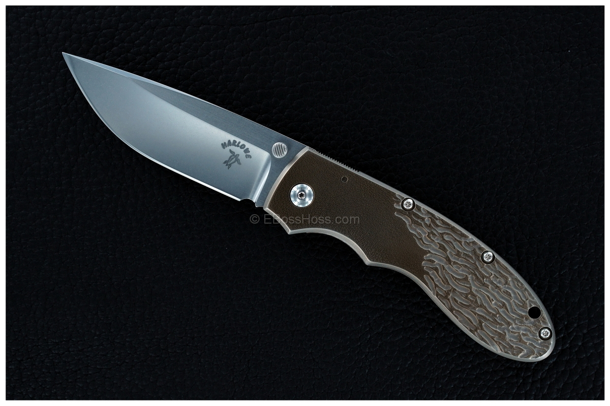 Charles Marlowe Custom No-Name Framelock Folder