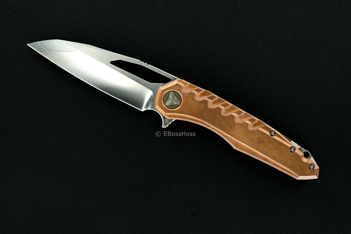 Deryk Munroe / Tony Marfione Custom Copper Sigil Flipper Collab