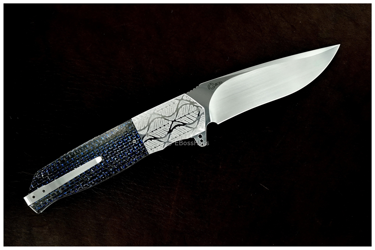 Andre Thorburn Deluxe Engraved L36 Large Flipper