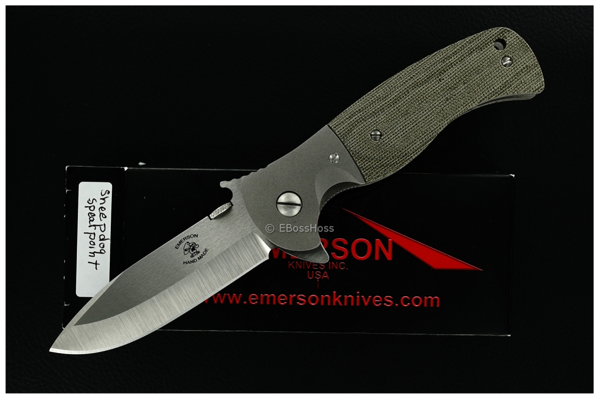 Ernie Emerson Custom Sheepdog Flipper Prototype w/Wave