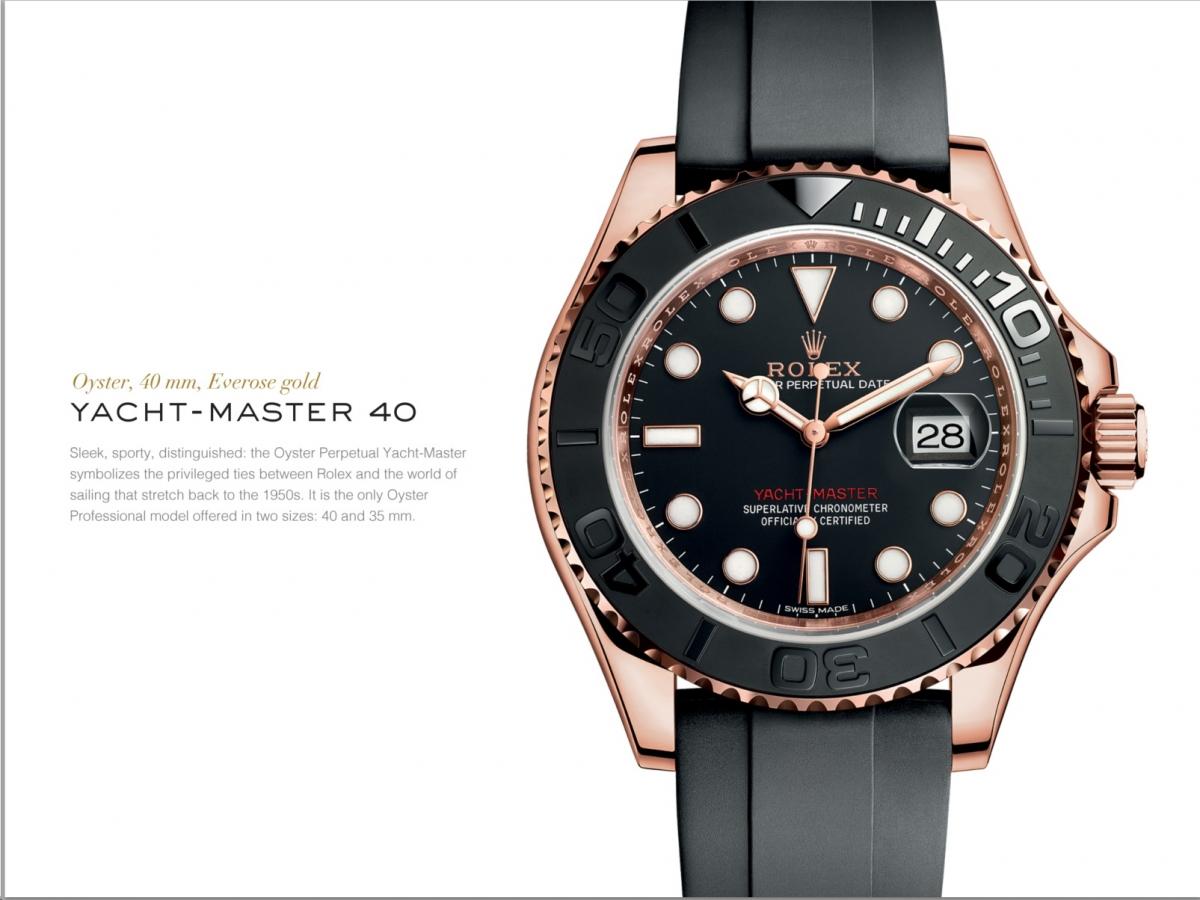 Rolex Yacht-Master 40 Everose Gold - Ref. 116655
