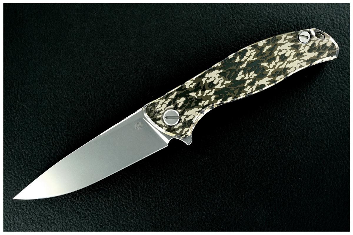 Sergey Shirogorov Custom Division Mod 95 SRRBS Flipper - Camo-Ti