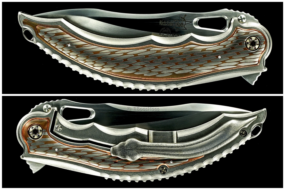 Korth Cutlery Custom Super-Conductor Reptile Flipper