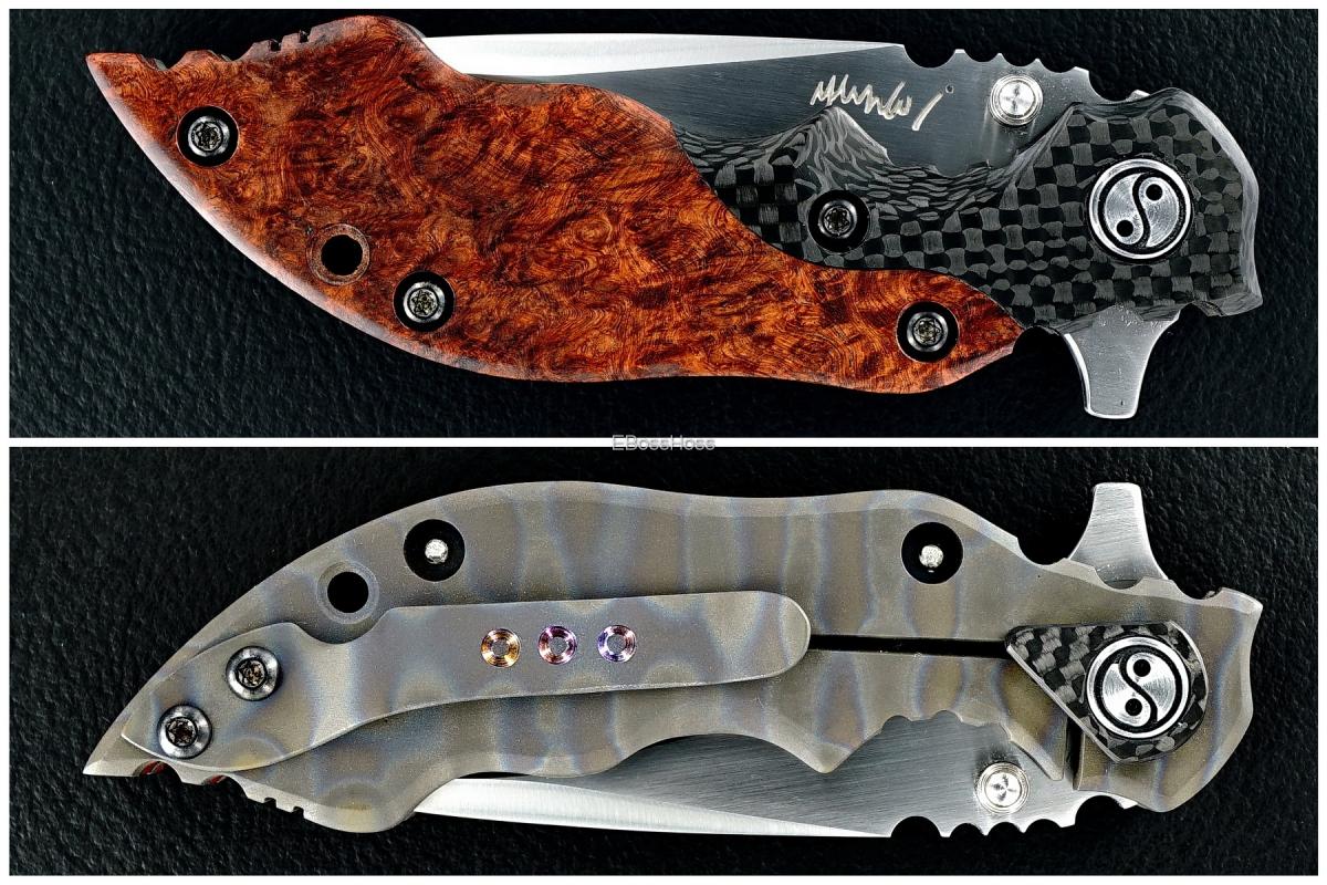 Yuna Knives Deluxe Hard 3 Type S Flipper