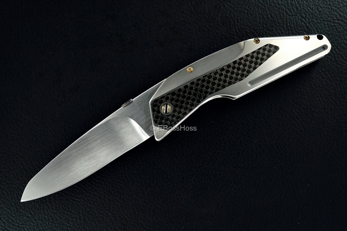 Gustavo Cecchini (GTC Knives) Custom Scarface Assisted Opener