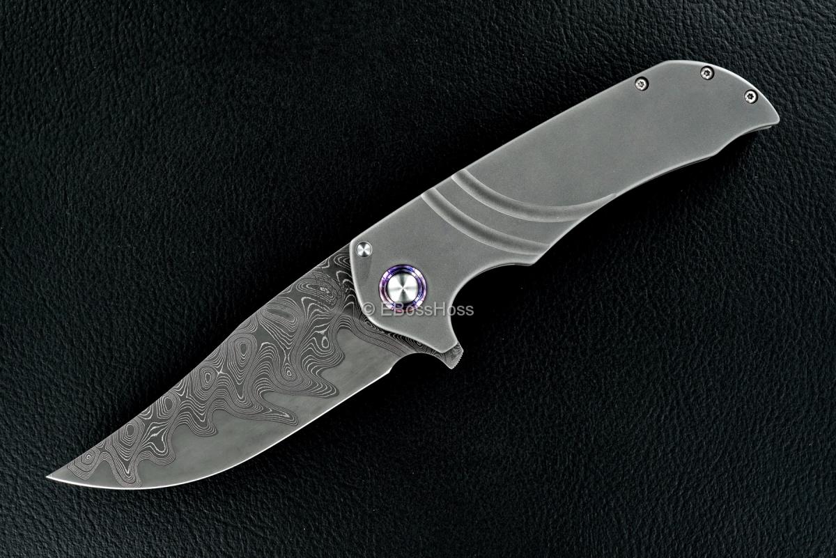 WR Bladeworks (Walter Randolph) Custom Wyvern Flipper