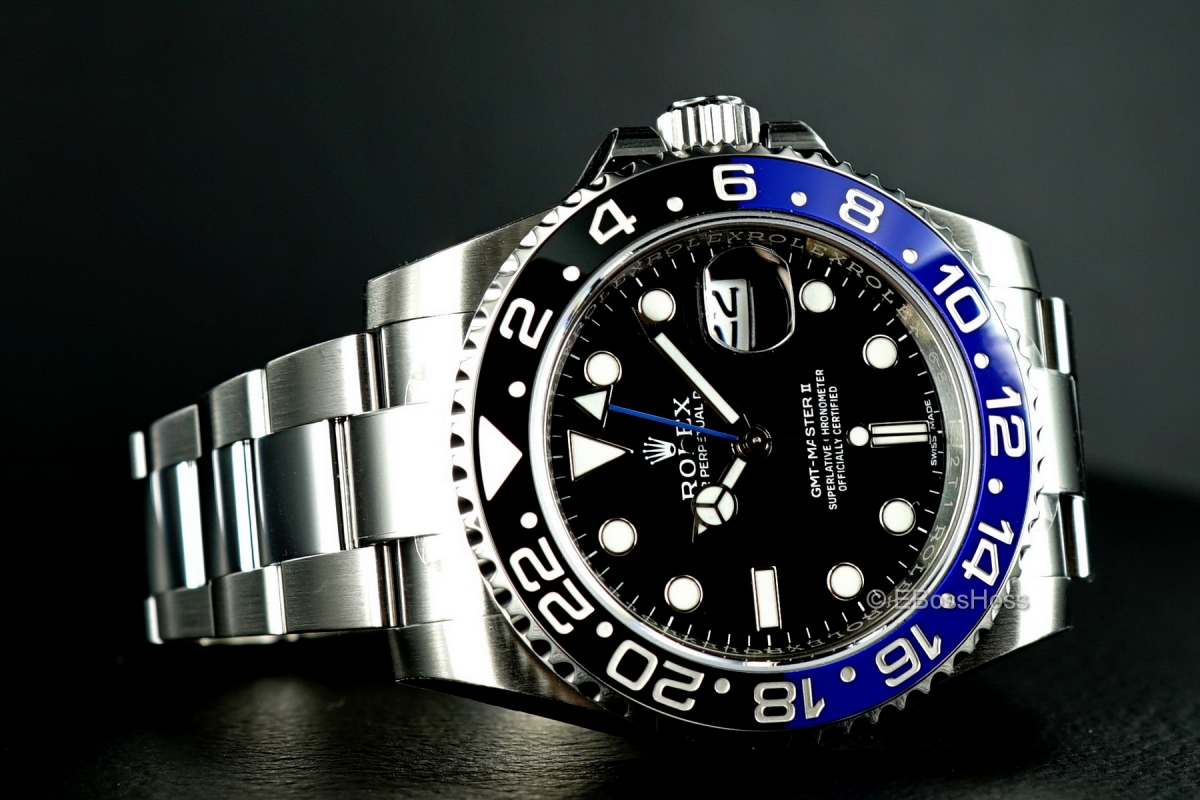 Rolex GMT Master II 116710 BLNR - Batman - Brand New (Papers Dated December 2015)