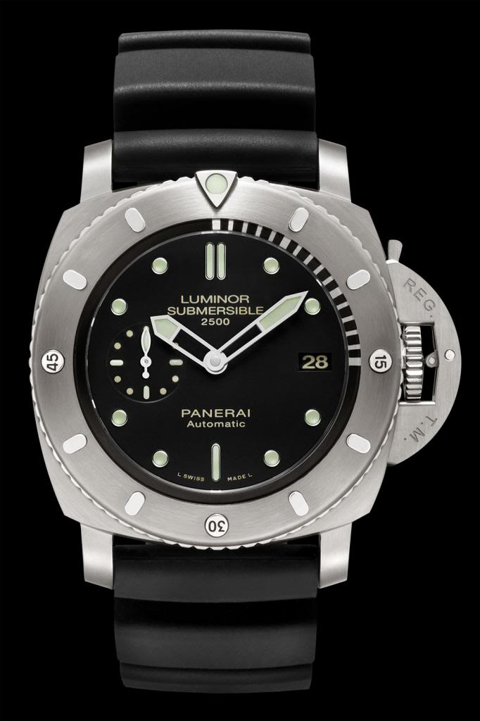 Panerai (Officine Panerai) 364 LUMINOR Submersible 1950 2500M 3 DAYS Automatic Titanio - 47MM PAM00364