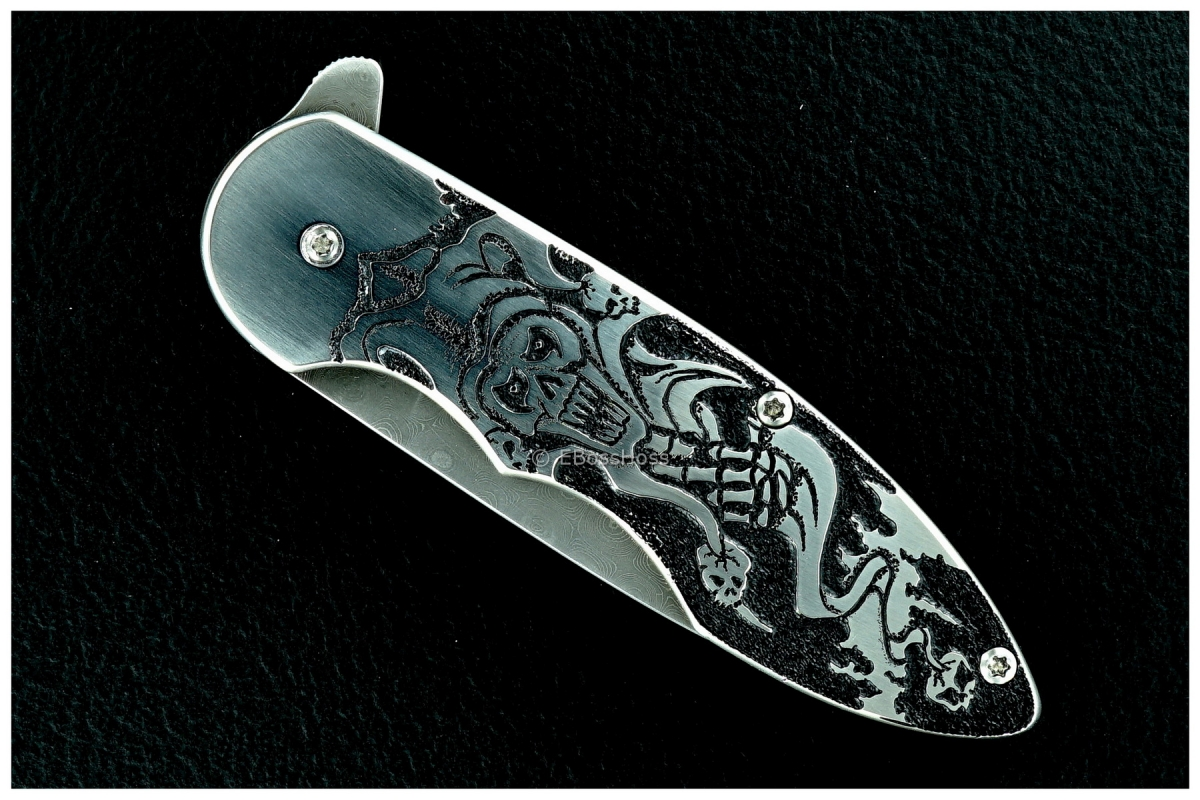 J.L. (Lee) Williams Custom Carved Kickstop Flipper