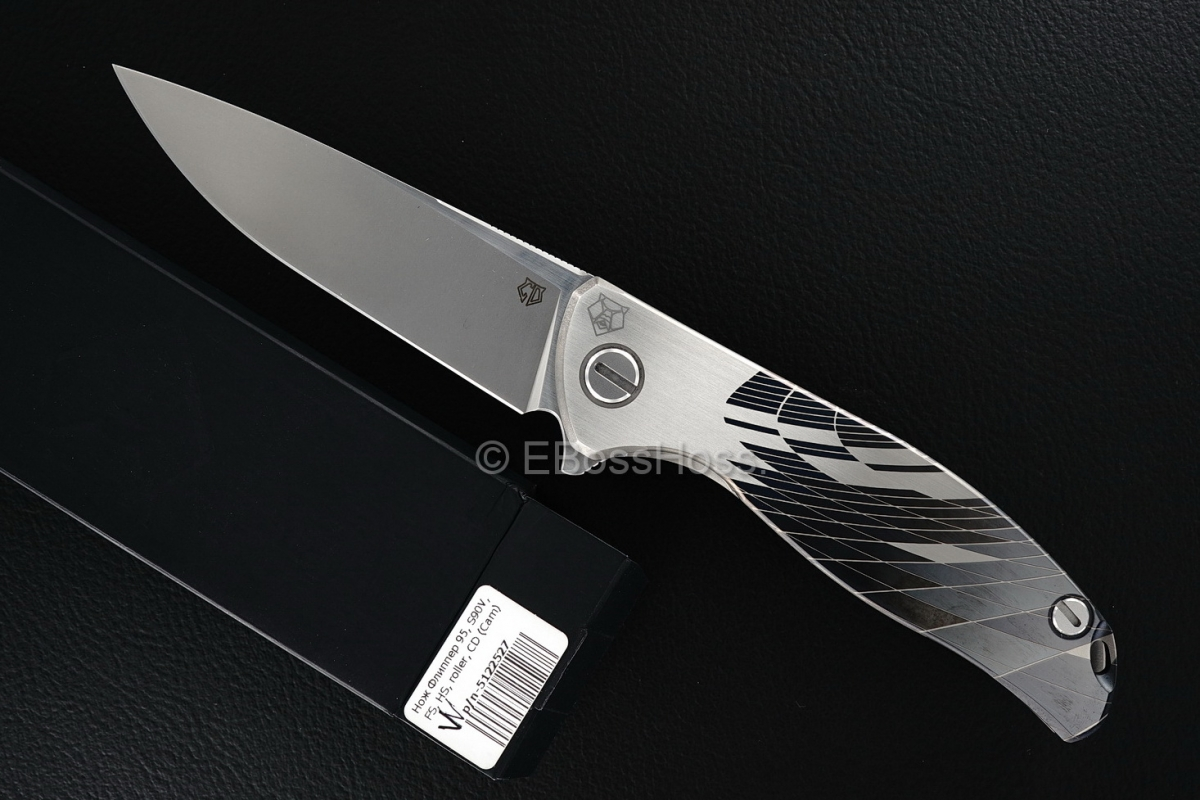 Sergey Shirogorov Custom Division Mod 95 Wave-pattern SRRBS Flipper